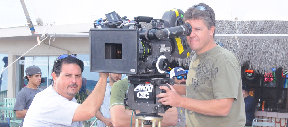 Machi Gonzalez - 1st Assistant Cameraman Pat Longman - Director of Photography